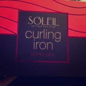 Soleil 32mm Curling iron with glove